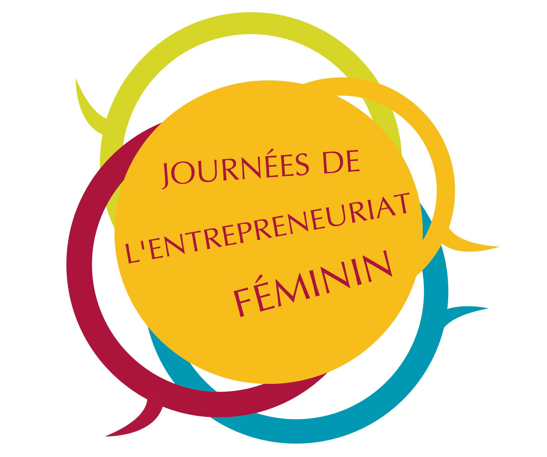 Logo des Journées de l'Entrepreneuriat Féminin 2014