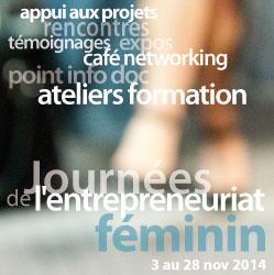 Journées de l'Entrepreneuriat Féminin 2014 mots clés